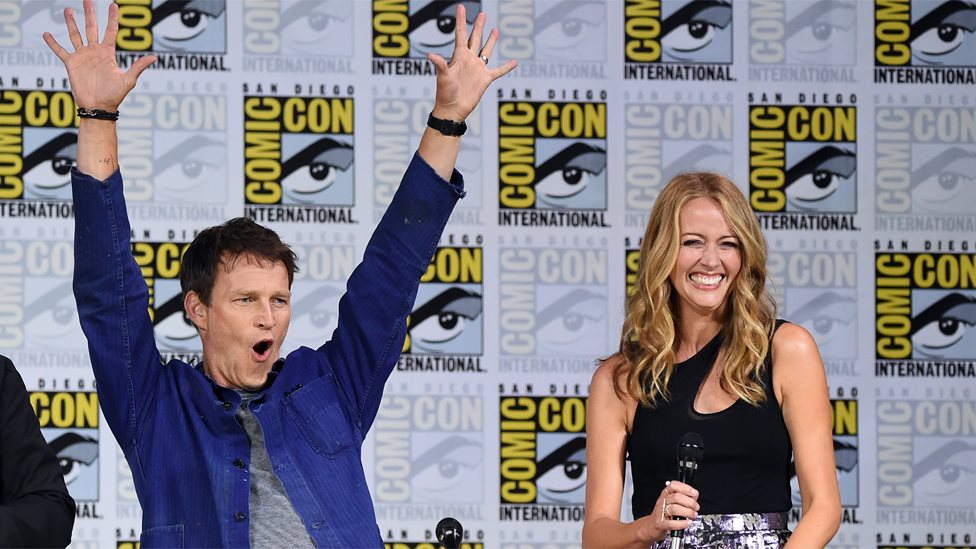 Stephen Moyer and Amy Acker
