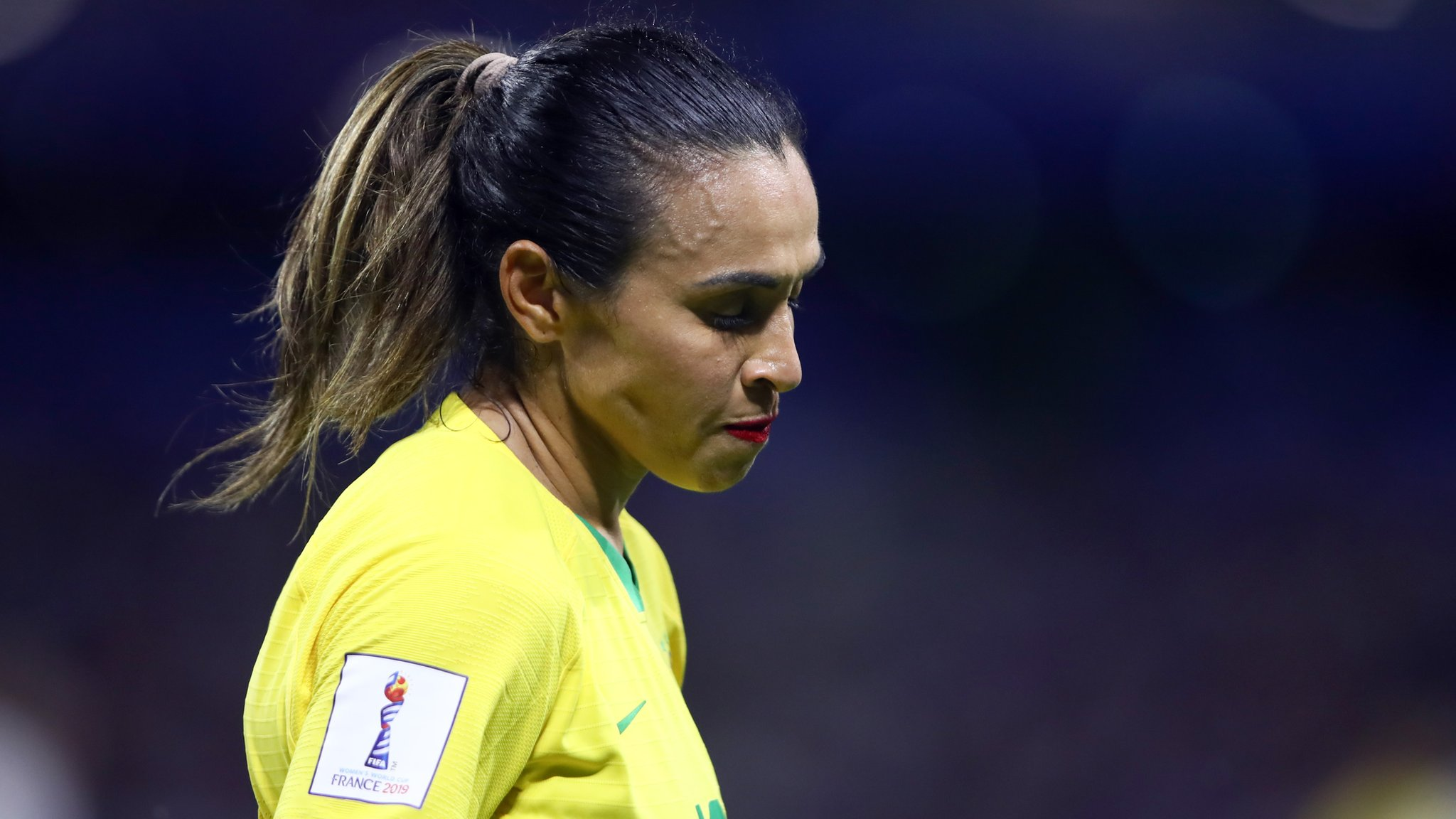 World Cup 2019: Brazil's Marta gives emotional speech to next generation