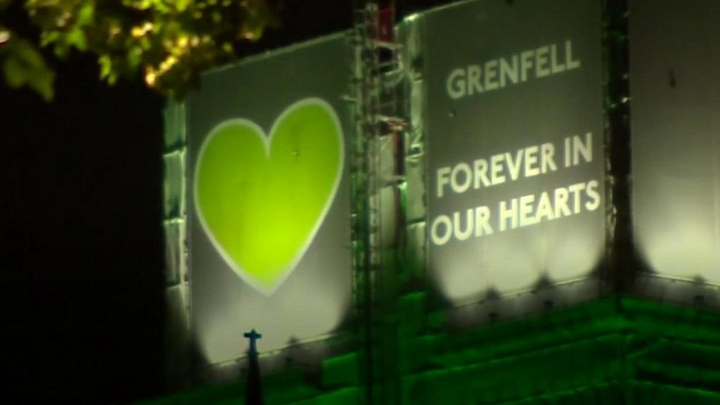 Grenfell Tower fire: Survivors and families mark second anniversary