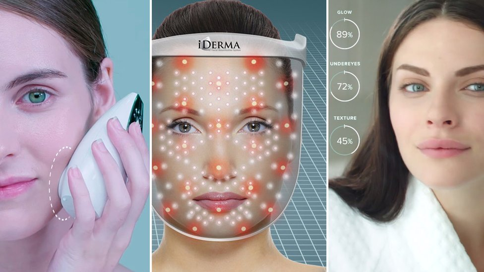Skin gadgets by Samsung, Apira Science and ModiFace