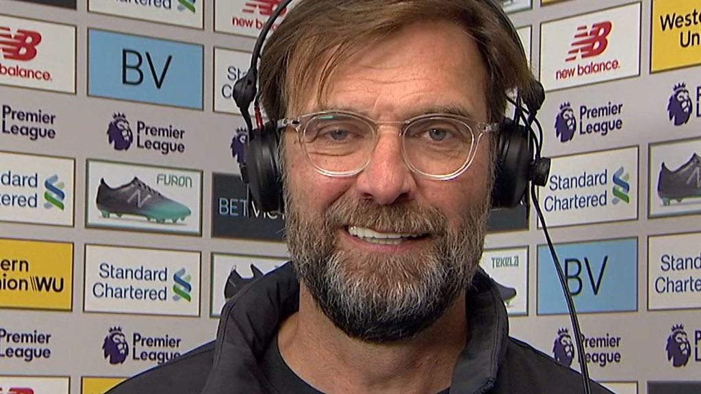 Liverpool 3-0 Bournemouth: Jurgen Klopp praises 'outstanding' Reds