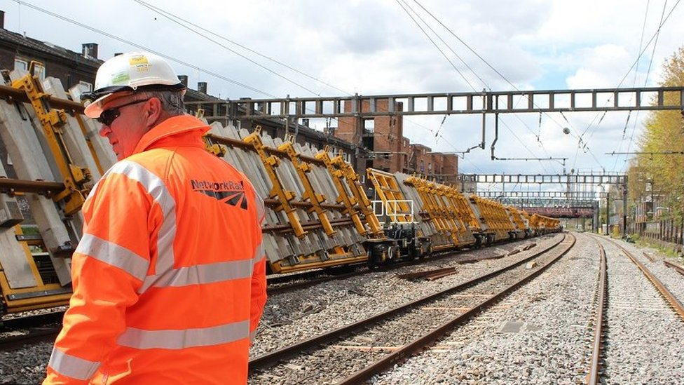 West Coast Main Line works set to cause Easter disruption