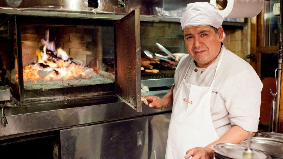 Restaurante Don Julio en Buenos Aires.