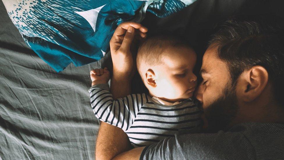 Padre y bebé