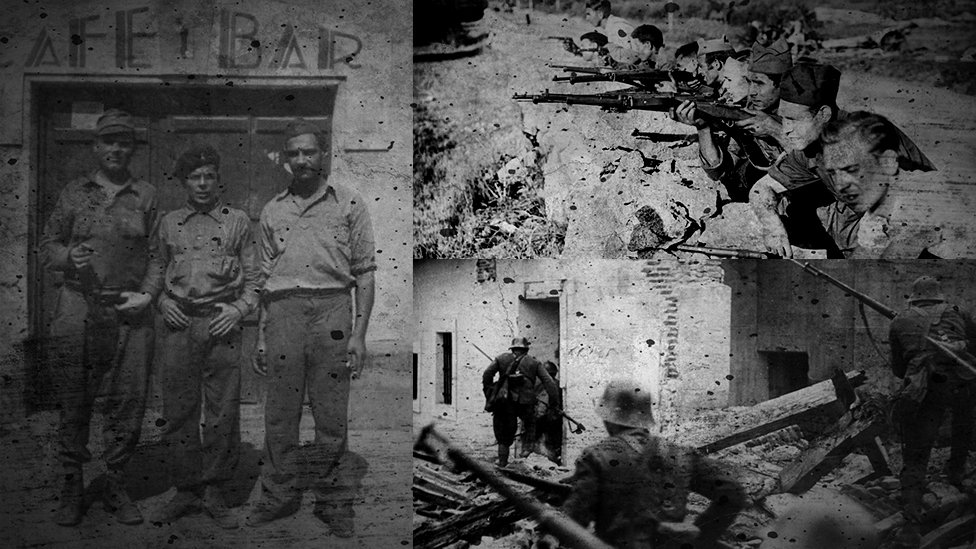 Wales and the Spanish Civil War montage