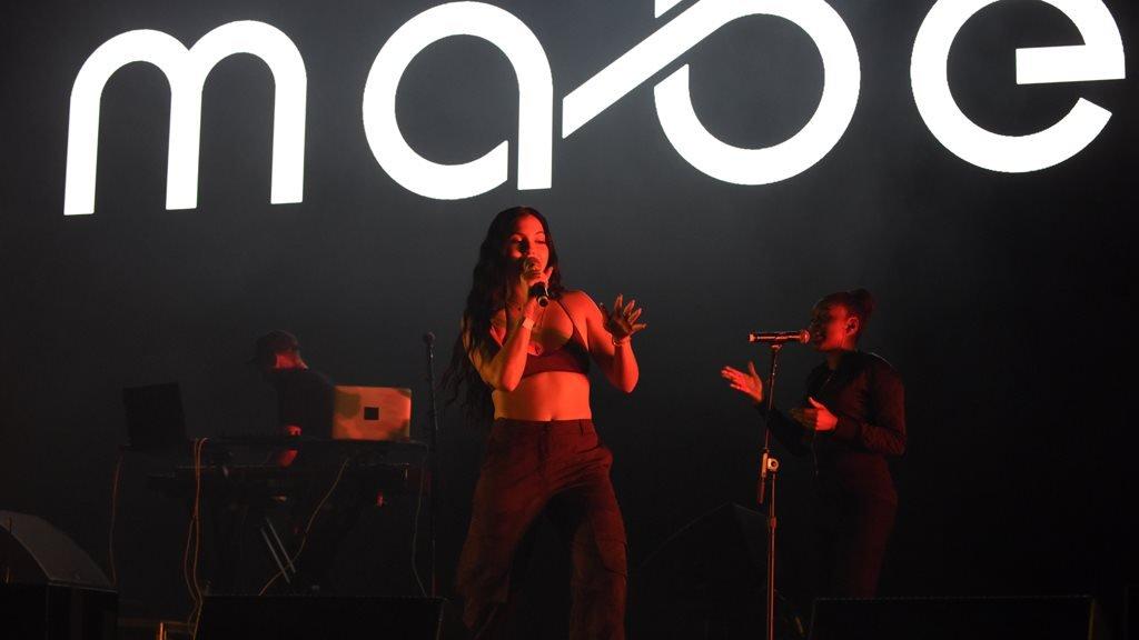 Mabel in concert