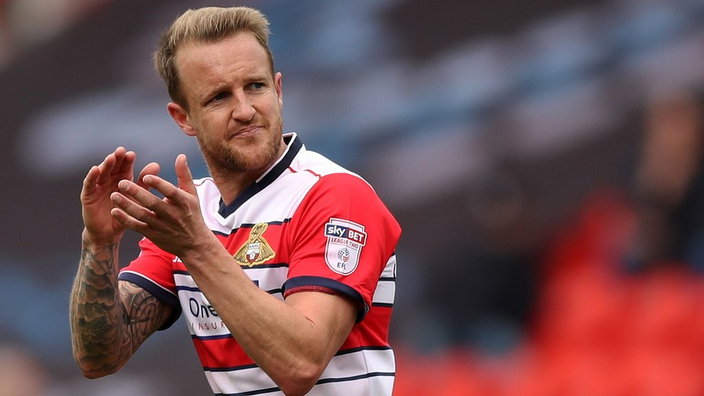 James Coppinger: Doncaster Rovers skipper signs new one-year deal