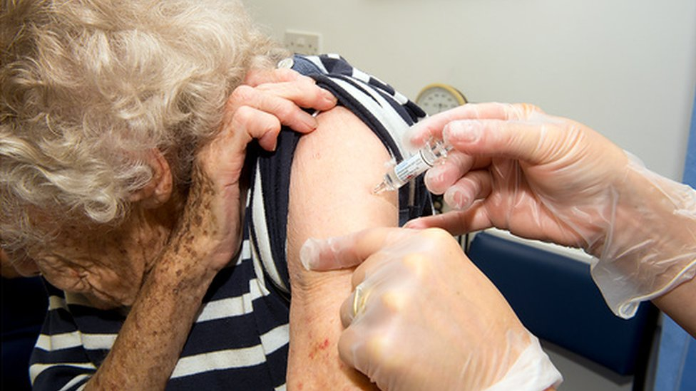 The elderly and the very young are most at risk from flu