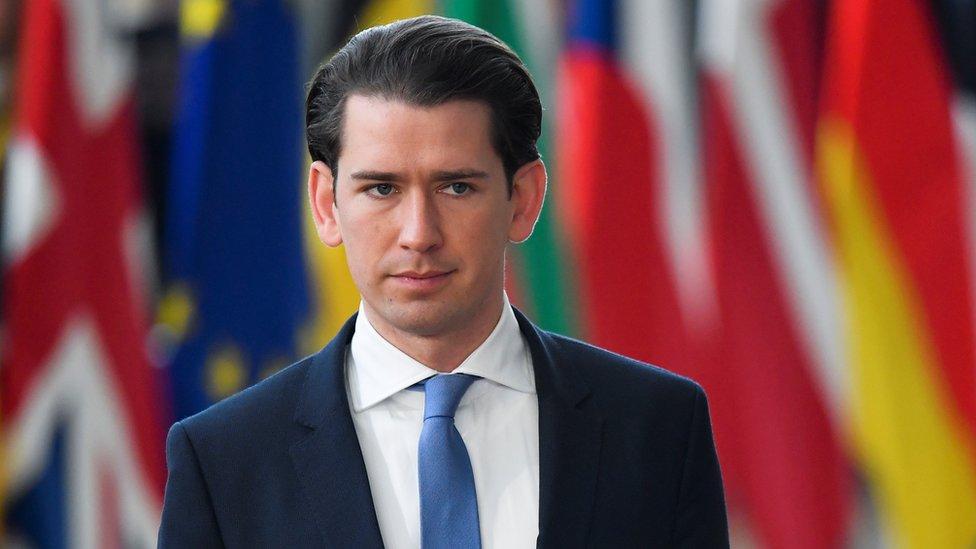Kancelar Austrije Sebastian Kurc