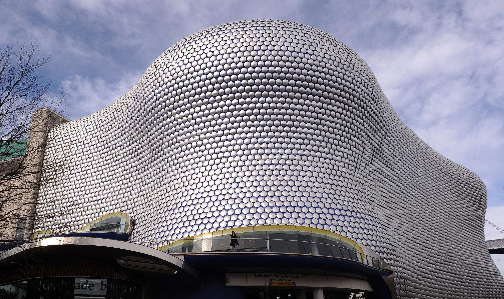 The Bullring centre in Birmingham