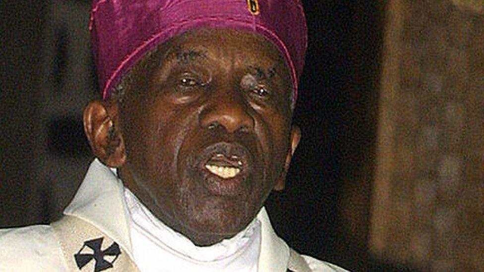 Archbishop Ndingi Mwana a'Nzeki