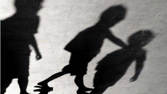Sombras de niños