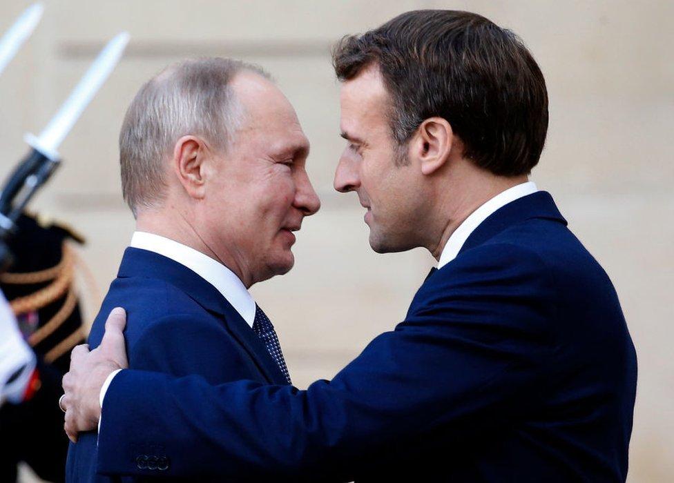 President Putin and President Macron