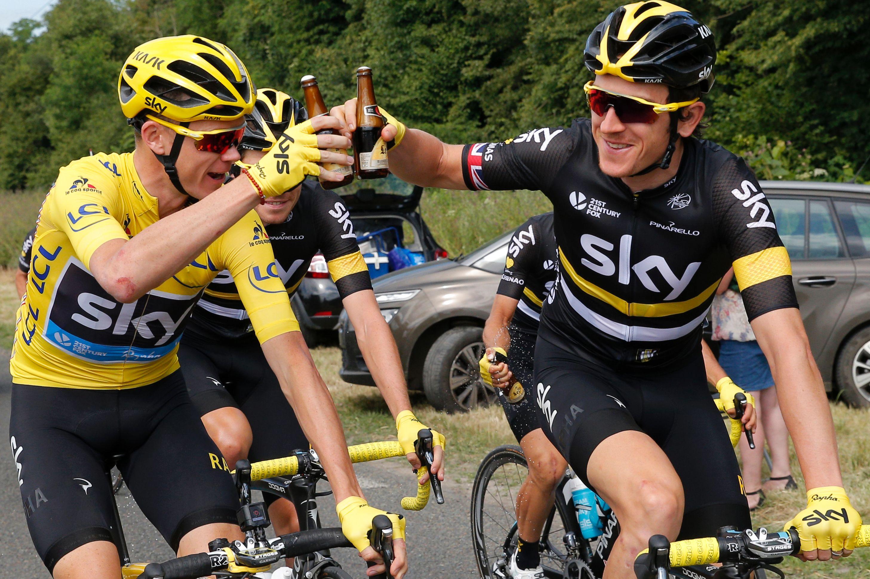 Tour de France - Chris Froome arrives in Paris for race finale - BBC Sport 14888c92d