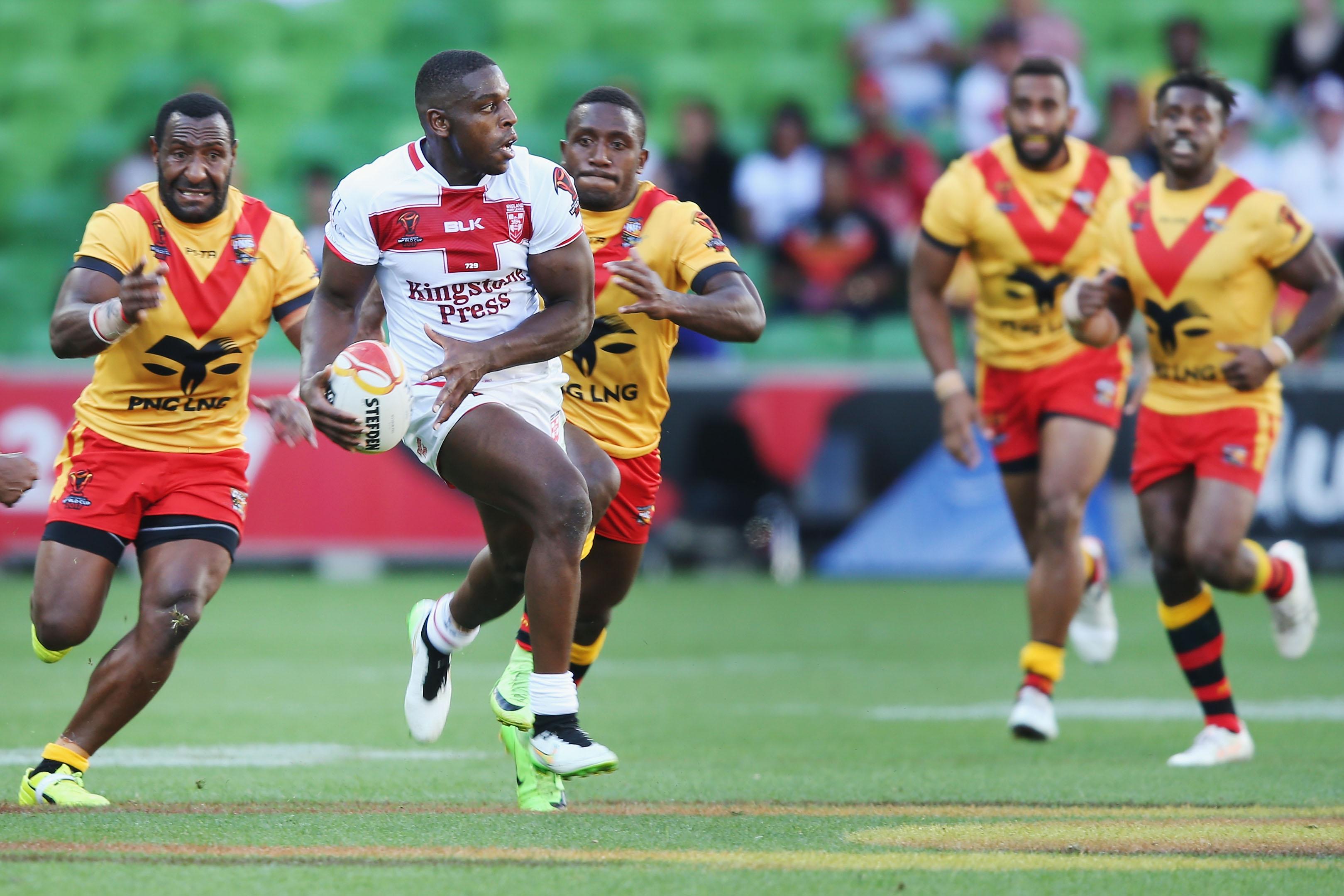 c98cccc0beb Rugby League World Cup 2017 quarter-final - FT: England 36-6 Papua New  Guinea - Live - BBC Sport