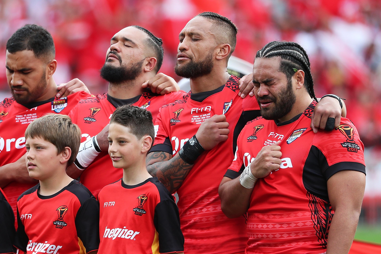 Rugby League World Cup 2017 semi final - Tonga v England - Live