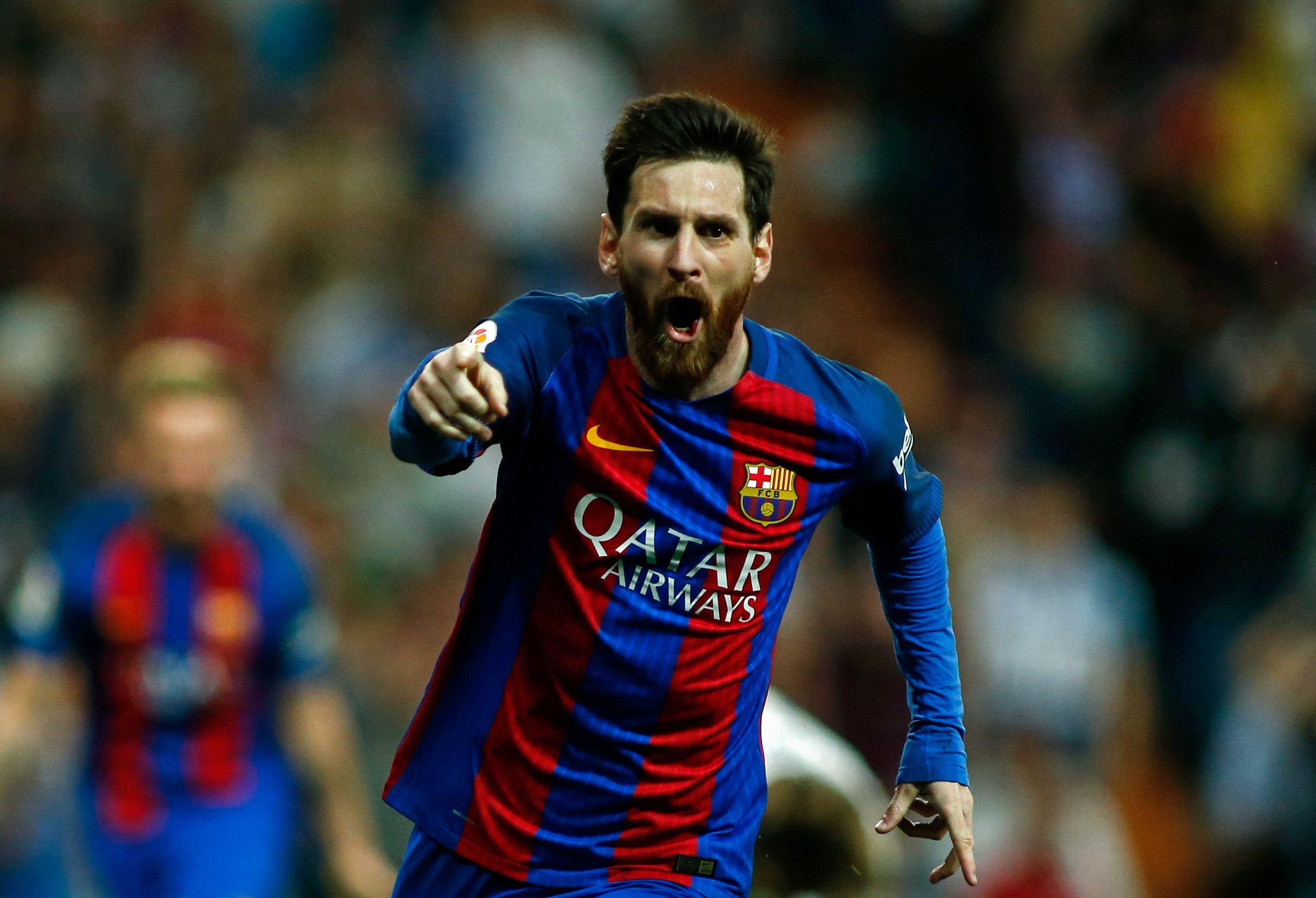 quality design d4c85 3f774 El Clasico: Real 2-3 Barcelona - Messi scores last-second ...