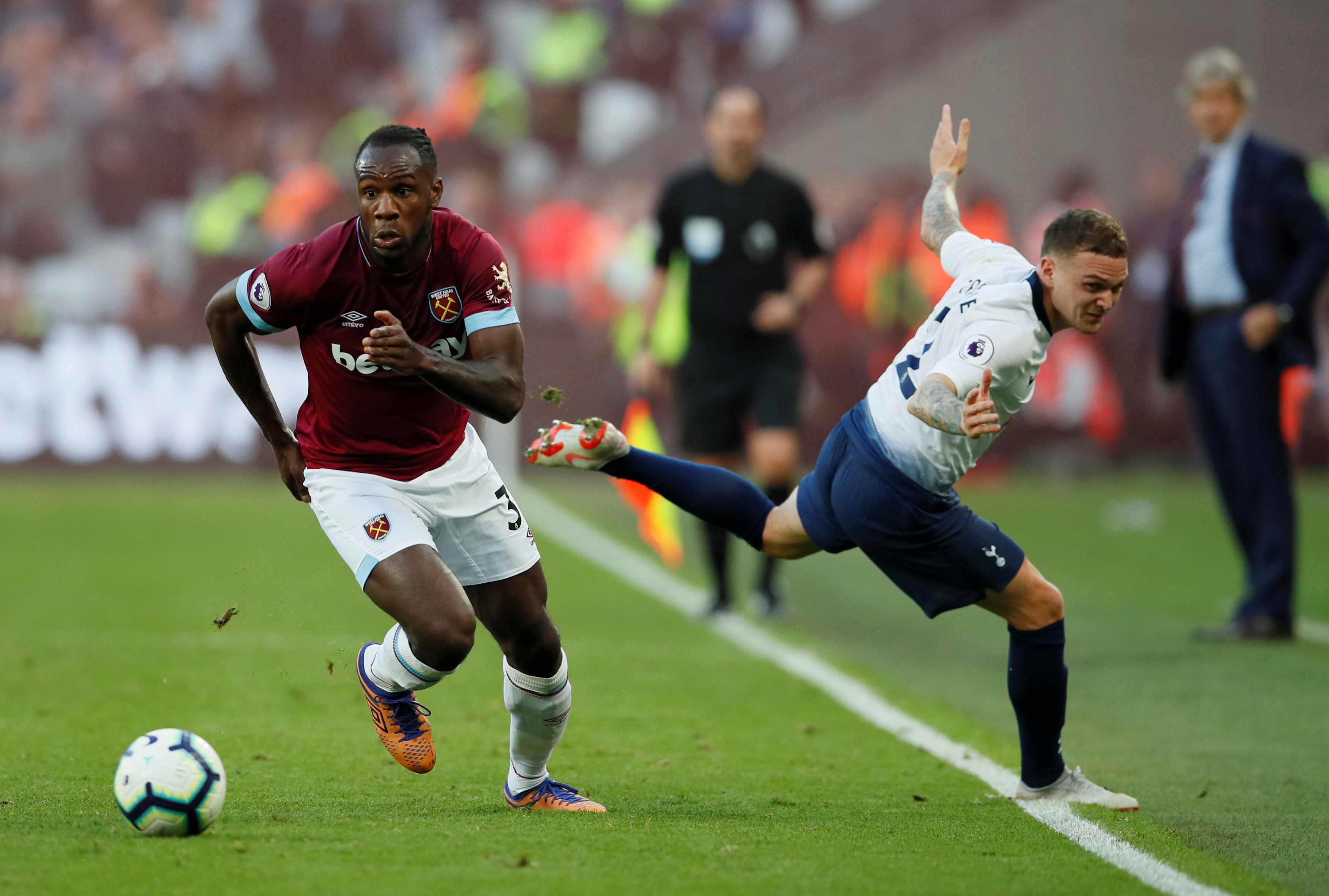 West Ham United v Tottenham Hotspur live - Live - BBC Sport