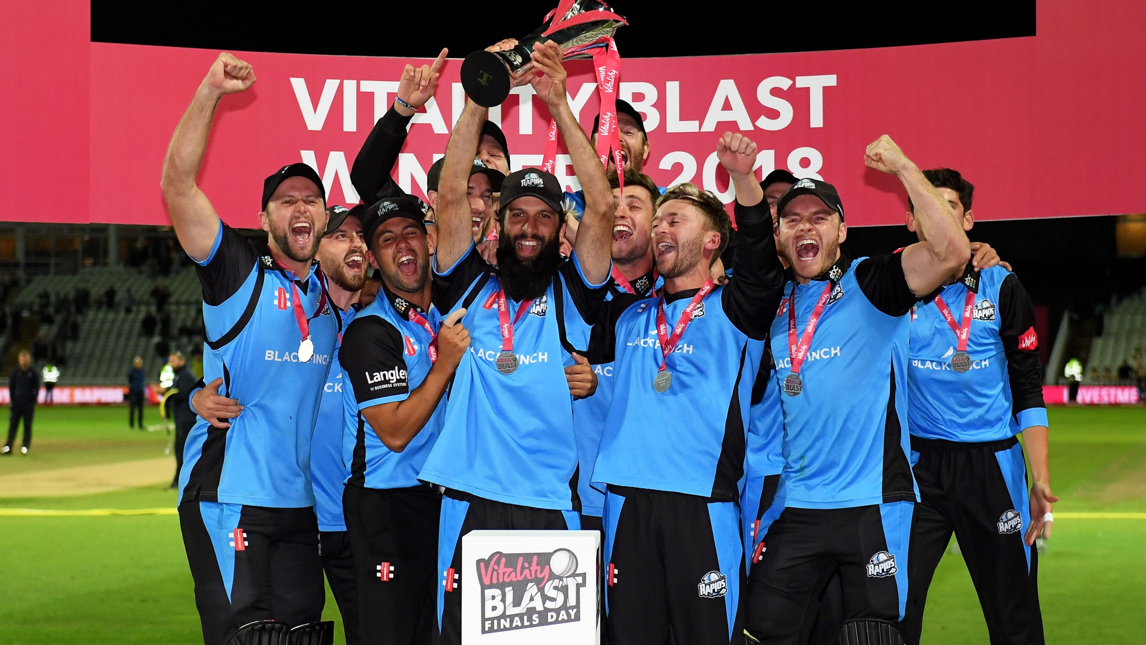 T20 Blast Finals Day: Worcestershire's triumph as it happened - Live