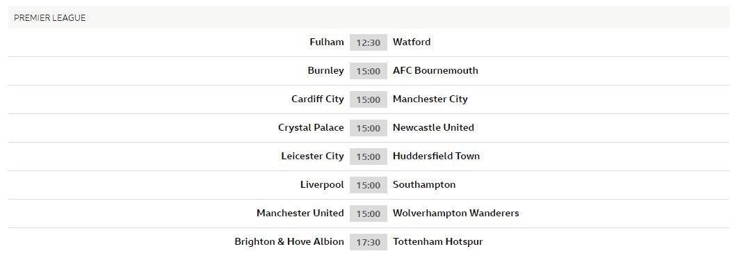 Premier League news conferences - Live - BBC Sport