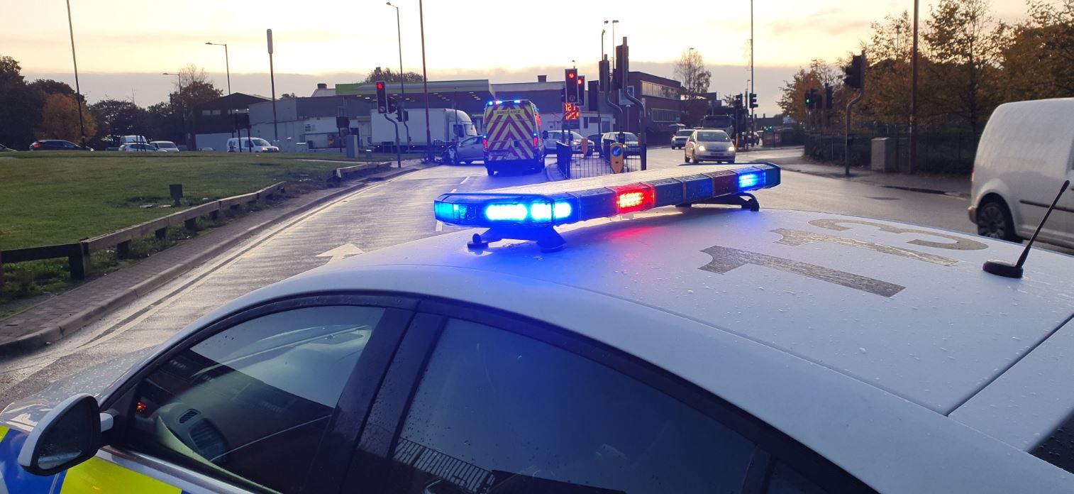 A41 Holyhead Road partially blocked
