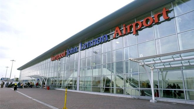 Liverpool Airport: Runway closed after plane overshoots runaway