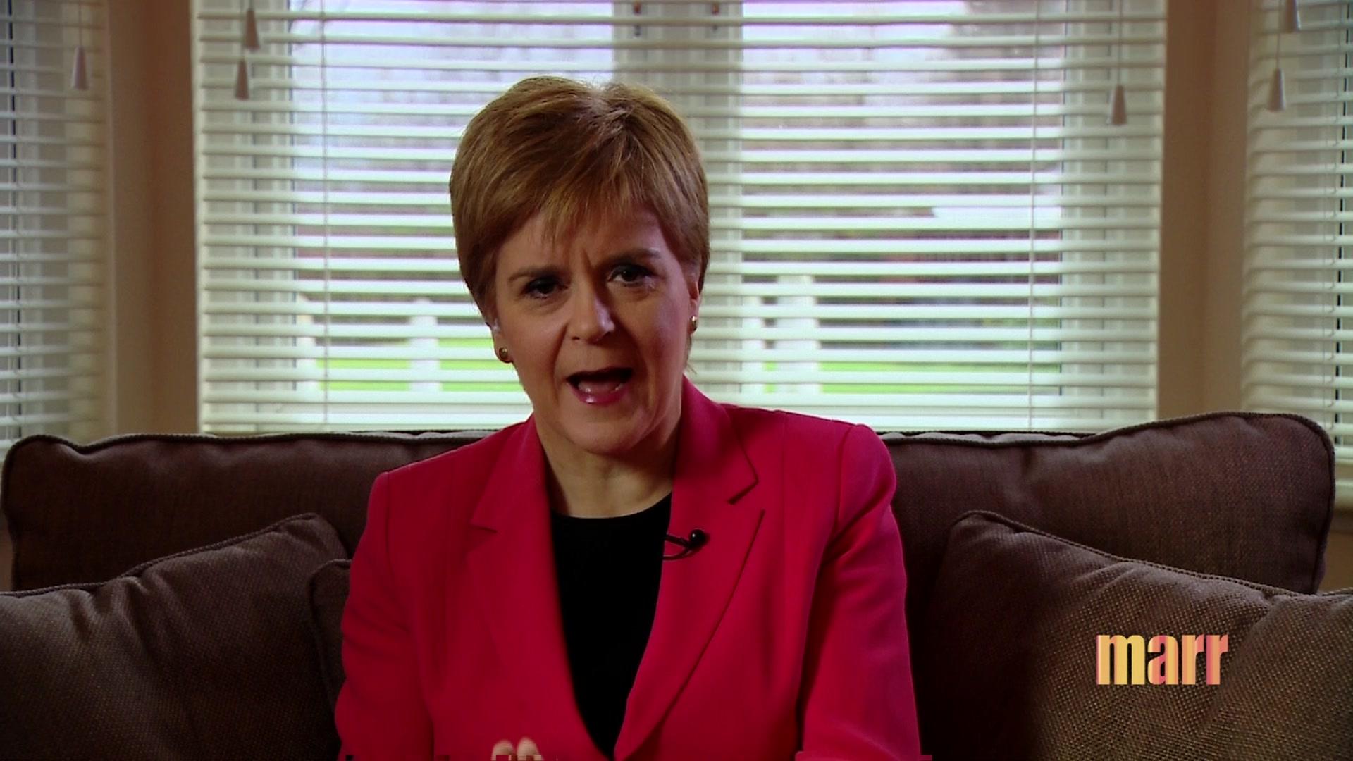 Sturgeon warns Johnson a 'no' on referendum 'won't hold'