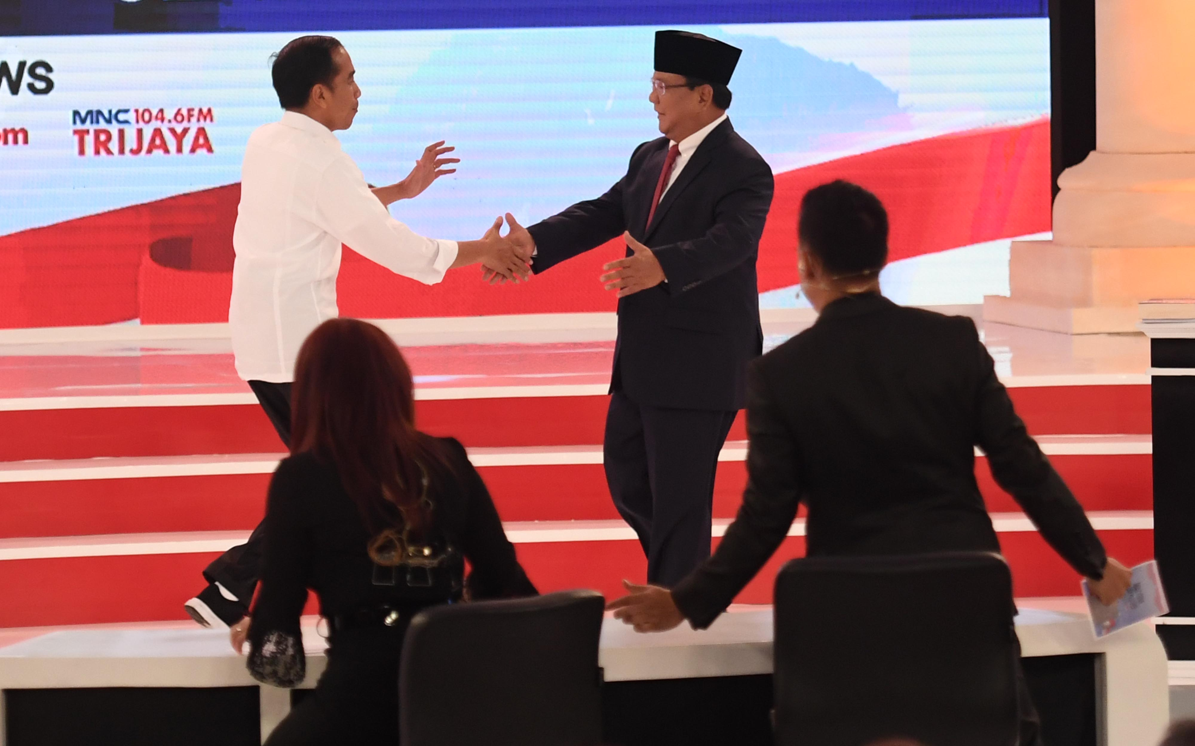 Debat kedua pilpres 2019 klaim data jokowi dipertanyakan prabowo kurang berhasil paparkan ide bbc news indonesia