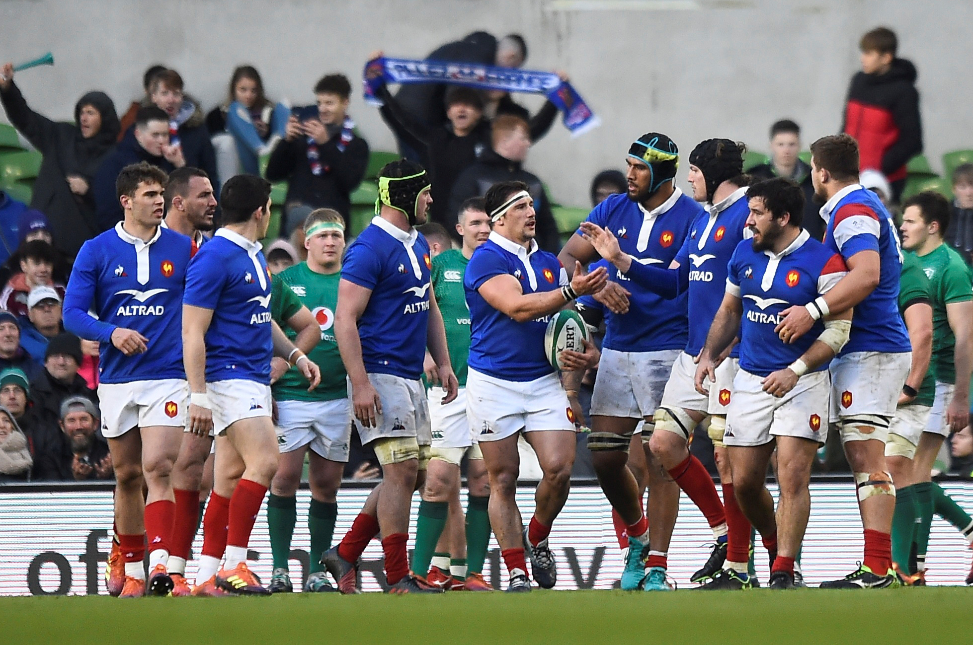 Ireland v France live in the Six Nations from the Aviva