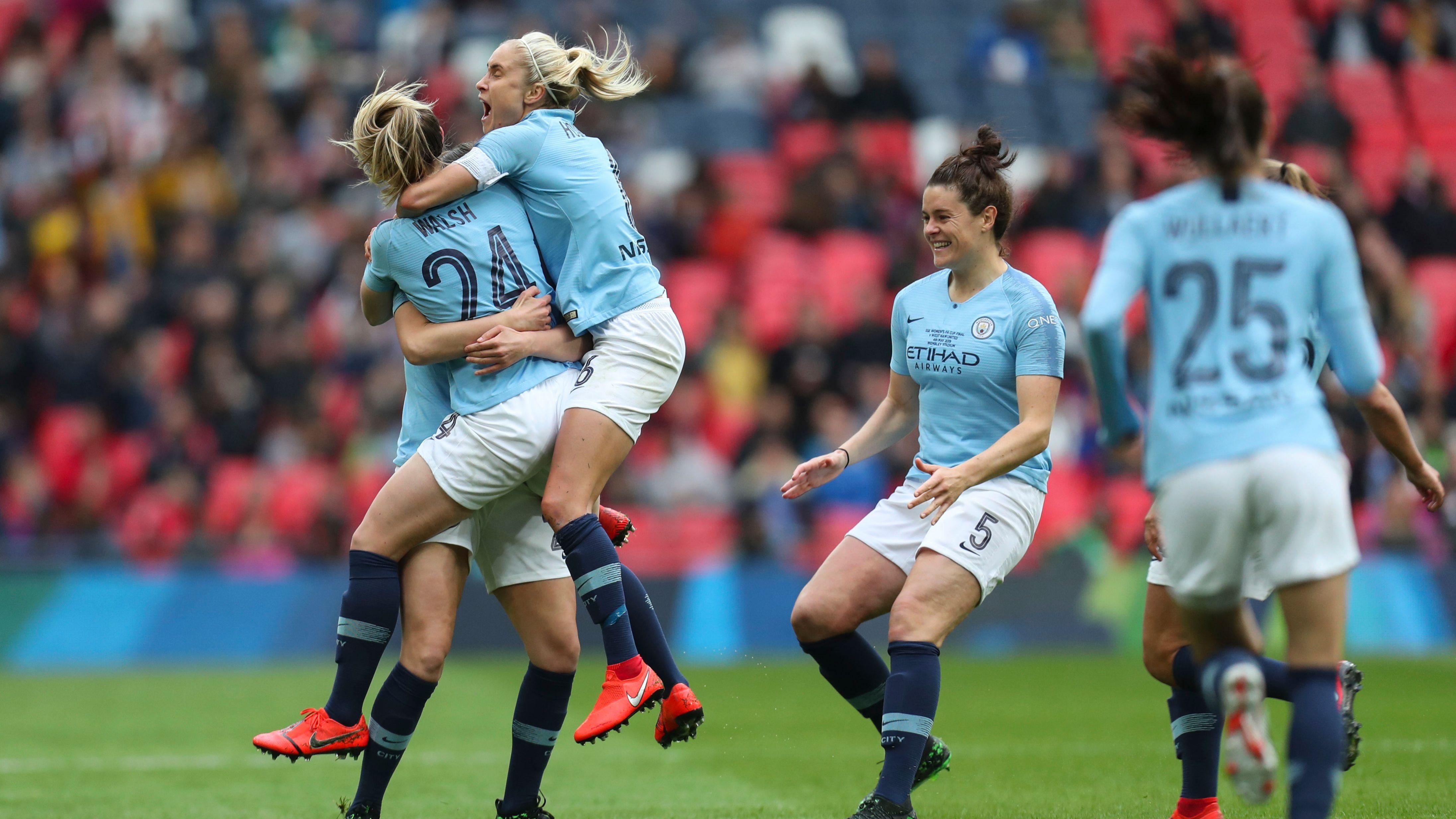 Watch Women's FA Cup final live - Man City v West Ham - Live