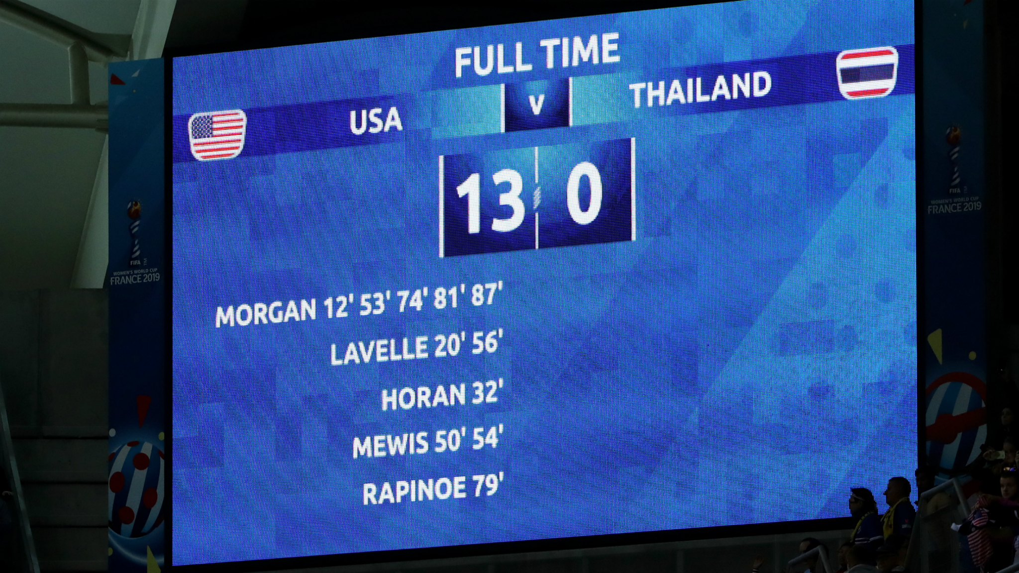 Watch USA v Thailand live in the Fifa Women's World Cup - Live - BBC