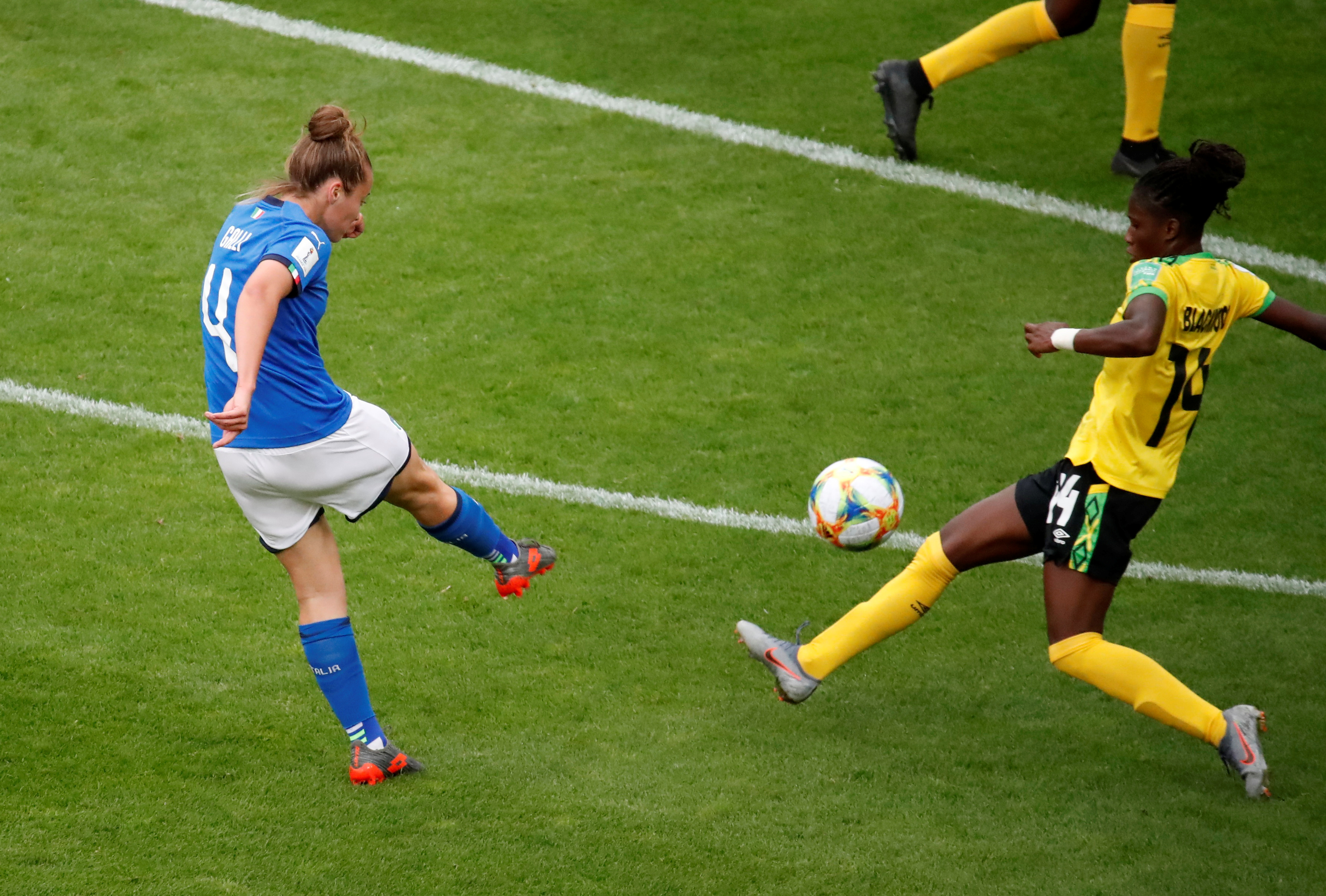 Watch Jamaica v Italy live in the Fifa Women's World Cup - Live