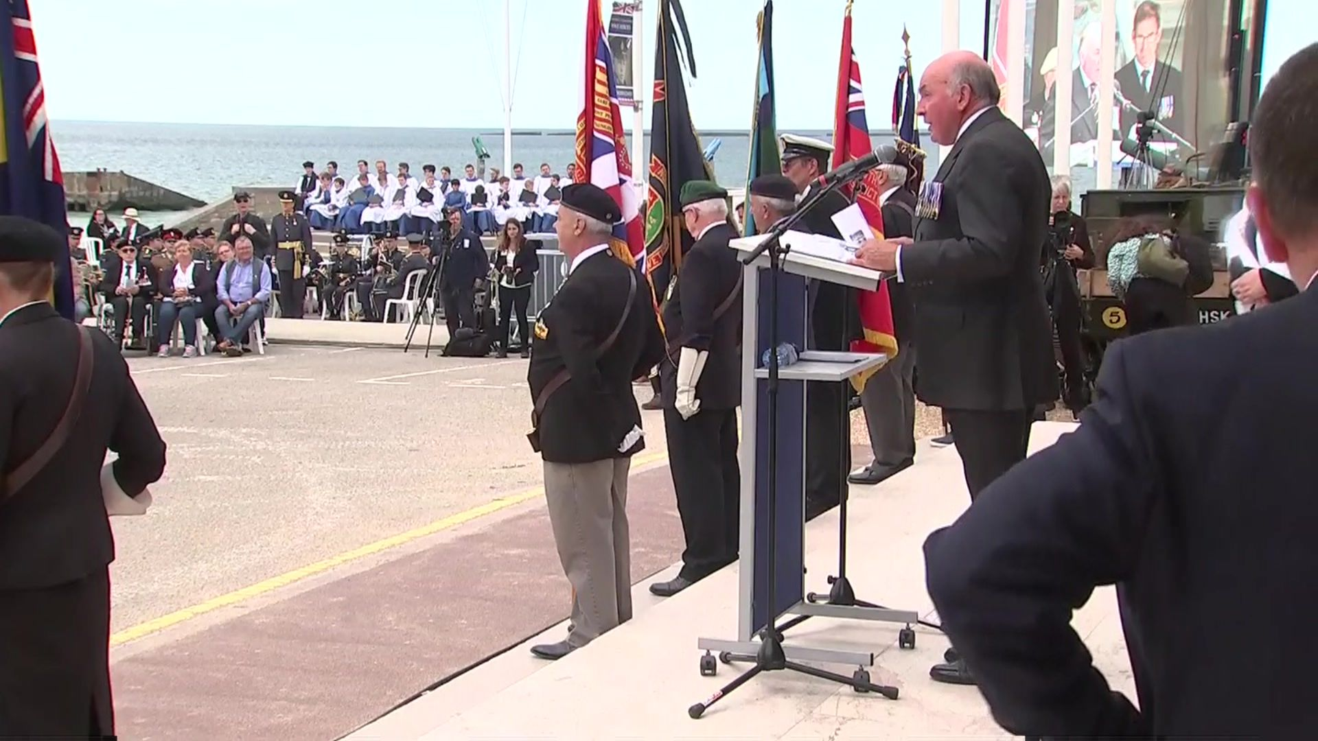 D-day commemorations: Veterans honoured during Normandy