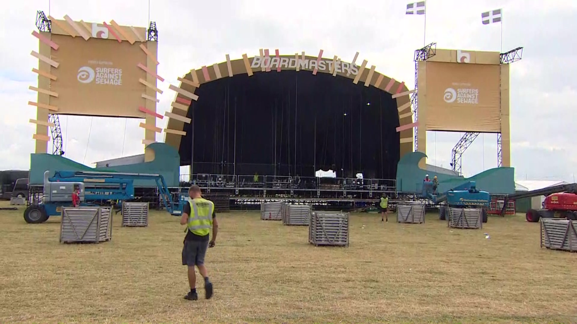 'Surreal feeling' as Boardmasters takes down stages
