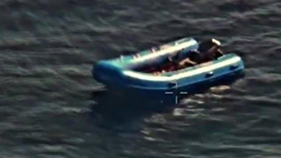'Sole survivor' describes deadly journey in migrant dinghy