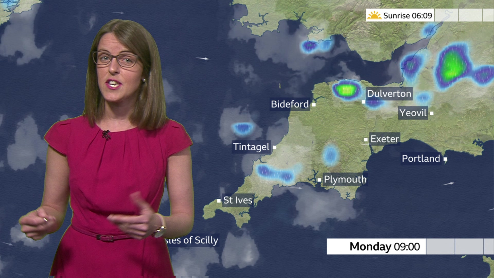Devon and Cornwall weather: Showers and sunny spells