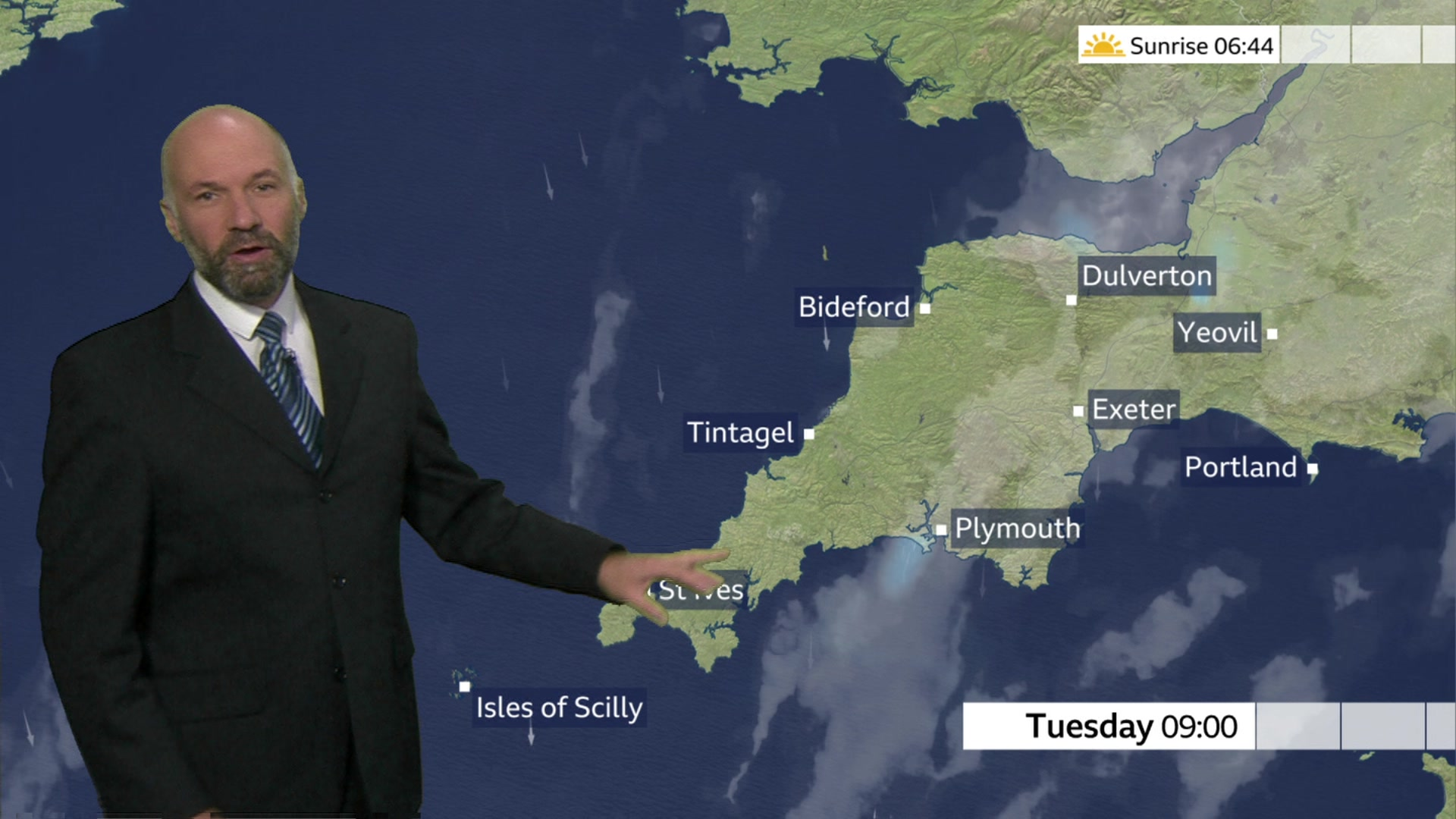 Devon and Cornwall weather: Rain clearing for sunny spells