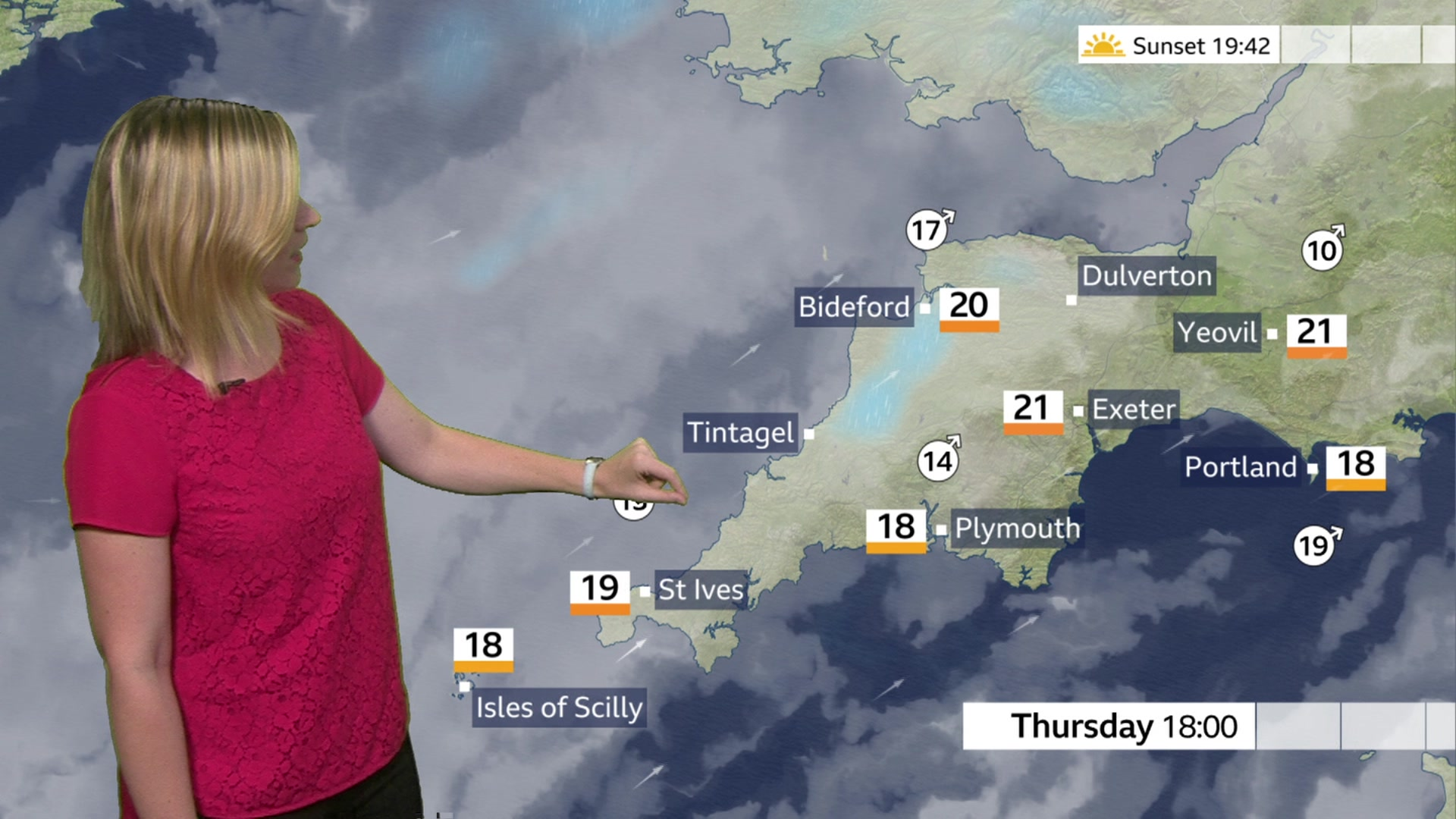 Cornwall and Devon weather: Dull to start