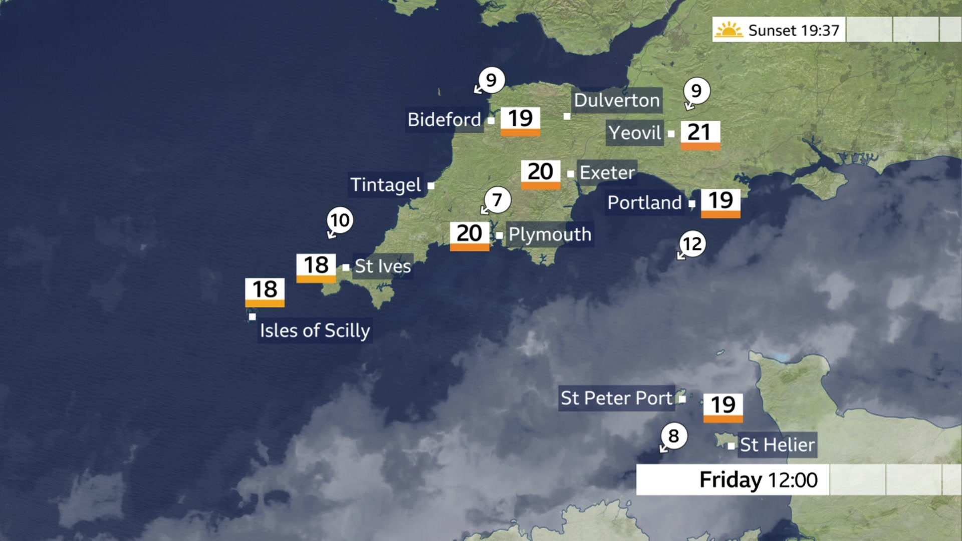 Devon and Cornwall weather: Spells of sunshine expected