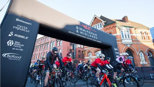 Birmingham and Midlands Velo event brought forward